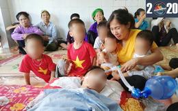 Yên Bái: Chồng mất đột ngột, để lại vợ và 4 con nhỏ là 2 cặp sinh đôi