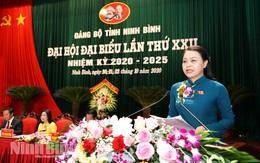 Đồng chí Nguyễn Thị Thu Hà tái đắc cử Bí thư Tỉnh ủy Ninh Bình