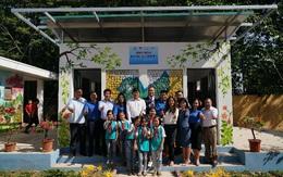 Thái Nguyên: Ra mắt nhà vệ sinh làm bằng gạch chai nhựa đầu tiên