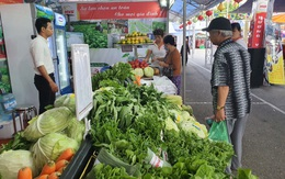 Gian hàng Việt quảng bá sản phẩm của Thủ đô