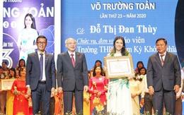 50 nhà giáo tiêu biểu tại TPHCM nhận giải thưởng Võ Trường Toản lần thứ 23