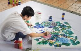 Thần đồng hội họa Xèo Chu lan tỏa vẻ đẹp tuyệt mỹ của nghệ thuật