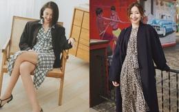 4 công thức váy liền + áo khoác được dân sành điệu áp dụng nhiệt tình