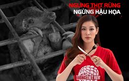 Khánh Vân, Trọng Hiếu cùng nhiều nghệ sĩ lên tiếng bảo vệ động vật hoang dã