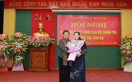 Bà Nguyễn Thanh Hải được phân công giữ chức Bí thư Tỉnh ủy Thái Nguyên