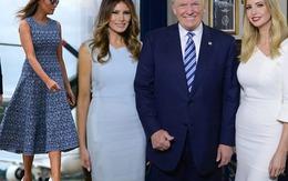 Xúng xính váy đầm, đệ nhất phu nhân Mỹ trẻ đẹp lấn át con gái Tổng thống Trump