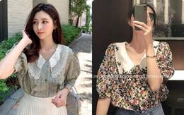Áo blouse tiểu thư đang được các nàng công sở Hàn Quốc thi nhau diện hè này
