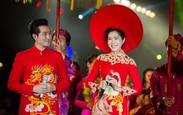 Những cung bậc tình yêu trong chiếc áo dài cưới