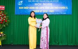 Bà Lê Bích Phượng được bầu làm Chủ tịch Hội LHPN tỉnh An Giang nhiệm kỳ 2016-2021