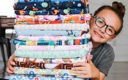 500 chiếc chăn và 1.000 khẩu trang tặng trẻ khó khăn
