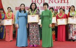 Hội LHPN tỉnh Yên Bái biểu dương 98 tập thể, cá nhân điển hình tiên tiến giai đoạn 2015 - 2020