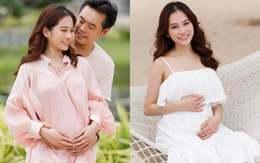 Vợ Dương Khắc Linh mang thai đôi mới hơn 5 tháng bụng đã to như sắp sinh