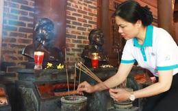 Lãnh đạo Hội LHPN Việt Nam dâng hương tưởng niệm  tại Khu di tích lịch sử quốc gia Truông Bồn