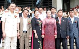 Chủ tịch Quốc hội gặp mặt điển hình tiên tiến lực lượng công an nhân dân