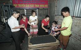 Sản xuất than không khói thân thiện với môi trường, tạo việc làm cho người khuyết tật
