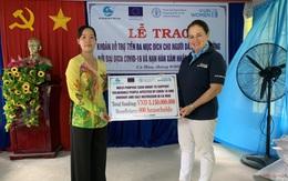 UN Women và FAO hỗ trợ 3,15 tỷ đồng cho các gia đình khó khăn do Covid-19 và hạn hán ở Cà Mau