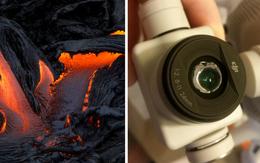 Suýt thiêu cháy camera trên miệng núi lửa, nhiếp ảnh gia thu được những khoảnh khắc không tưởng