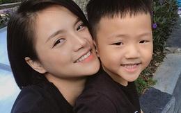 """Diễn viên Thu Quỳnh: """"Người yêu không thoải mái khi tôi đóng cảnh hôn"""""""