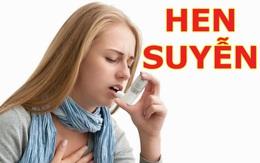 Nguy cơ mắc hen suyễn dị ứng mùa thu và cách phòng ngừa bệnh tái phát