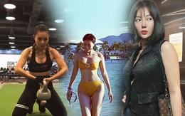 """Thanh Hương tiết lộ """"bí kíp"""" giúp giảm mỡ, tăng cơ hiệu quả khi tập gym"""