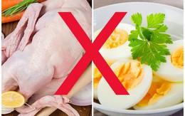 Tuyệt đối không nấu hoặc ăn thịt vịt cùng những thực phẩm này