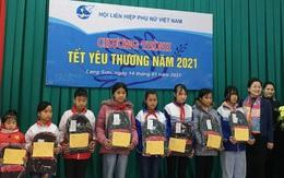 """Mang """"Tết yêu thương"""" đến với phụ nữ và trẻ em khó khăn ở Lạng Sơn"""
