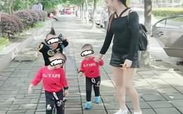 Cả nhà đi dạo phố, ai cũng tưởng 4 mẹ con, nhìn kĩ người phía sau mới giật mình