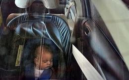 Tên trộm ô tô quay lại trả con và mắng người mẹ vì để con nhỏ một mình trên xe