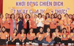 """Lan tỏa """"7 Ngày Cam thách thức!"""" phòng chống bạo lực với phụ nữ, trẻ em"""