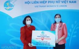 Hội LHPN Việt Nam tiếp nhận 2.300 phần quà san sẻ yêu thương