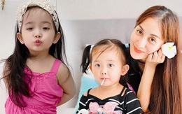 Con gái Khánh Thi thừa hưởng từ mẹ đặc điểm chuẩn công chúa nhỏ