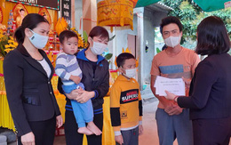 Hội LHPN Hải Dương kêu gọi ủng hộ 2 con nhỏ của nữ nhân viên y tế gặp nạn sau khi trực chốt Covid-19