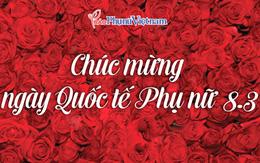 Báo PNVN chúc mừng ngày Quốc tế Phụ nữ 8/3