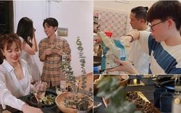 Hồ Hoài Anh, Đức Phúc hì hụi nấu tiệc đẹp mê ly phục vụ chị em