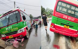 Trên đường đi học, bé gái 10 tuổi bị xe buýt tông tử vong