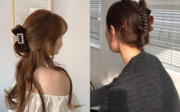 """4 cách dùng kẹp càng cua tạo kiểu tóc cho hè """"giải nóng"""", sang chảnh"""
