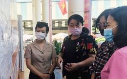Phụ nữ Hà Nội tích cực tham gia hỗ trợ công tác bầu cử