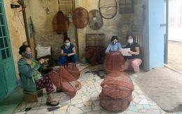Giúp phụ nữ giảm nghèo từ nghề đan lưới xuất khẩu