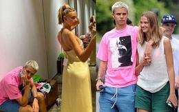 """Chờ bạn gái thử đồ, con trai Victoria Beckham thấm thía """"nỗi khổ của đàn ông"""""""
