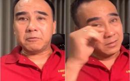 """MC Quyền Linh khóc nghẹn trên sóng livestream: """"Sài Gòn bây giờ thương lắm, đau lắm"""""""