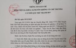 Hà Nội chỉ đạo khẩn vụ ăn bớt vật tư xét nghiệm HIV ở BV Xanh Pôn