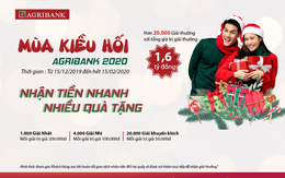 Dịch vụ nhận tiền kiều hối qua Agribank: Nhận tiền nhanh - nhiều quà tặng