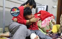 Cậu bé khép lại giấc mơ sân cỏ vì đôi chân khuyết tật sau tai nạn giao thông
