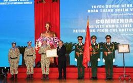 Tuyên dương 63 sĩ quan quân đội hoàn thành xuất sắc nhiệm vụ ở Nam Sudan