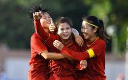 120 phút nỗ lực và quả cảm của các cô gái vàng bóng đá Việt Nam