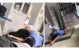 Xôn xao thông tin bác sỹ ôm sinh viên ngủ trong ca trực