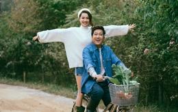 """Trường Giang - Nhã Phương """"trốn con"""" chụp ảnh Valentine ngọt ngào"""