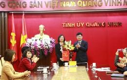 Quảng Ninh: Bổ nhiệm Phó Chủ tịch Hội LHPN làm Phó Chánh Văn phòng Tỉnh ủy