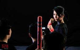 """""""Choáng"""" với màn 1 đấu 7 của H'Hen Niê khi tập luyện đóng phim hành động"""
