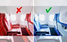 Tại sao ghế máy bay thường có màu xanh, lời giải thích sẽ khiến bạn bất ngờ
